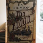 JUST IN: gorgeous new proofs for The Blood! It'll be published by @constablebooks in April. Jem Flockhart is back and it's time to find out What Secrets Lie Aboard...