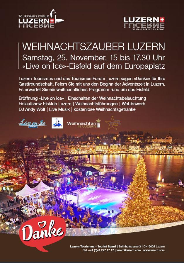 Weihnachtsbeleuchtung Forum.Lucerne Tourism On Twitter Weihnachtszauber Luzern Wir Sagen