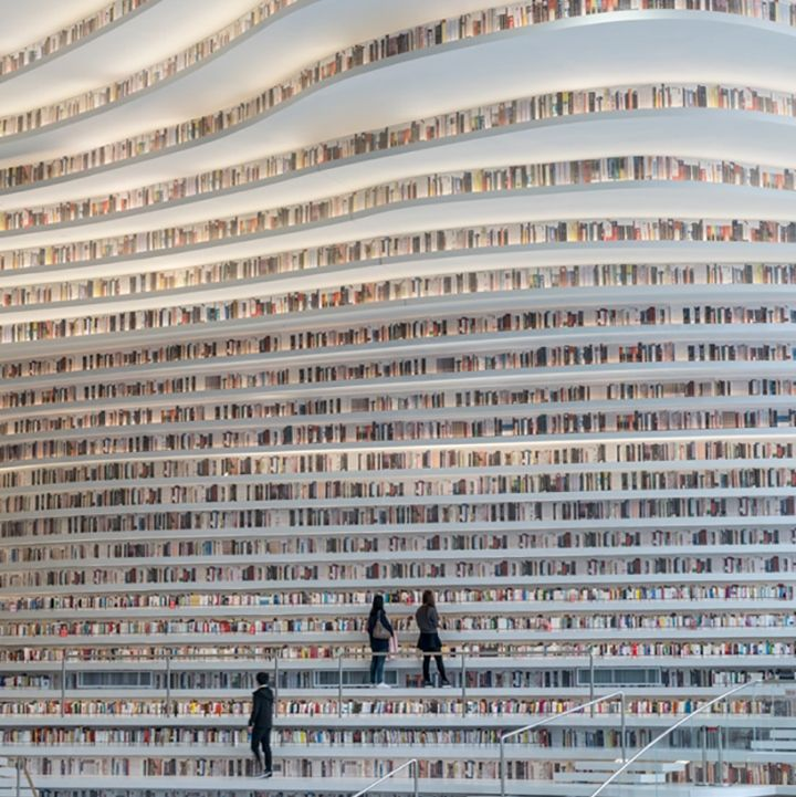 Pia Hyttinen On Twitter This Library Is Amazing Its In Tianjin