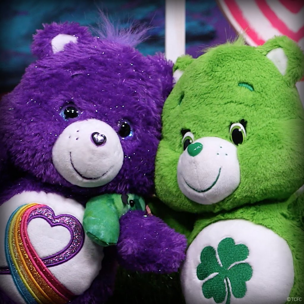 Rainbow Heart & Good Luck Bear are k...