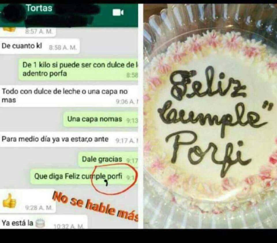 RT @DelToro_JP: #SiTePudieraDarAlgoSería una torta para tu cumple 😆😂 #FelizMartes https://t.co/1ux2sr7MWz