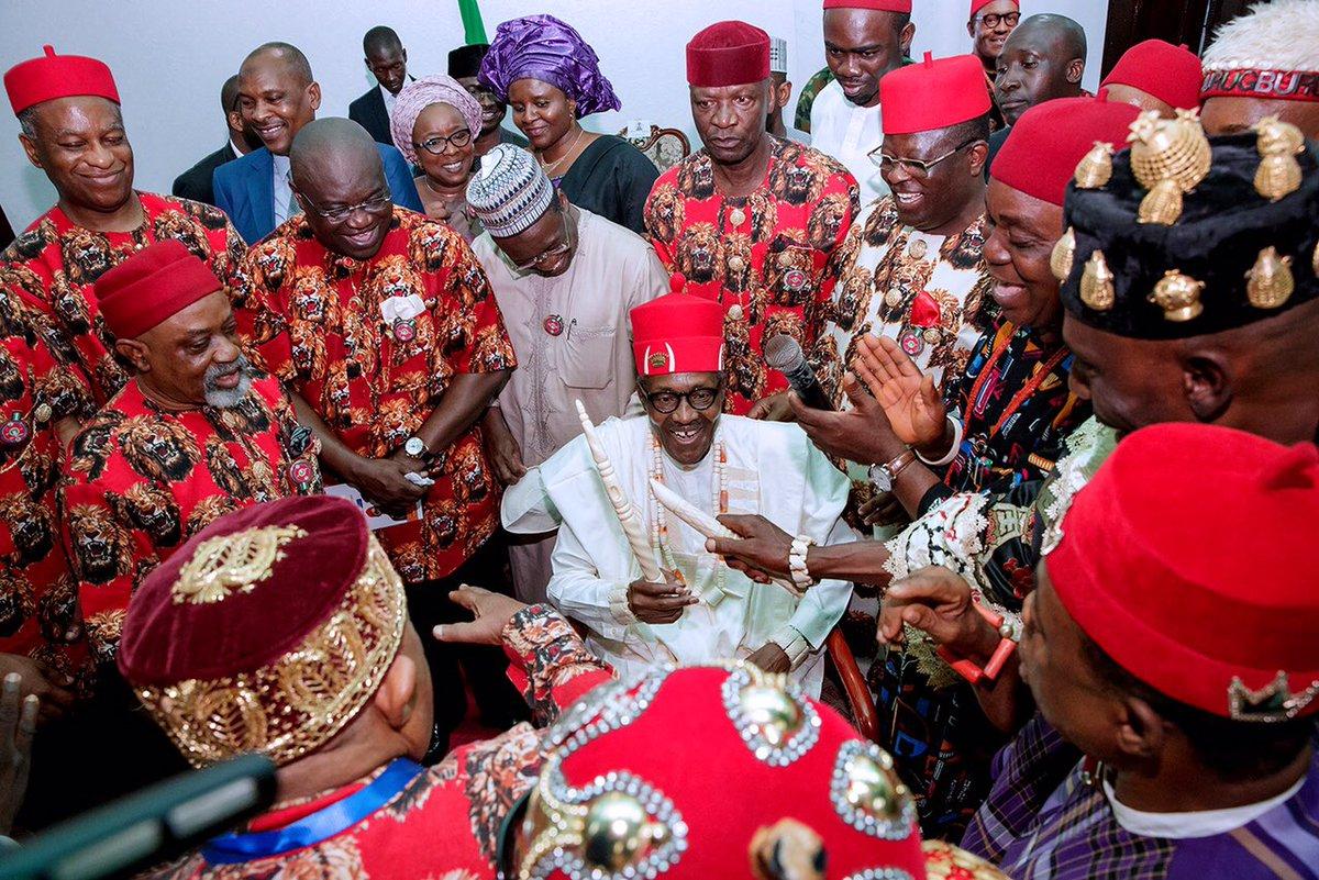 RT @NGRPresident: Enyioma 1 of Ebonyi and Ochioha Ndi Igbo 1.   #PMBinSE https://t.co/JM2dVRUnoT
