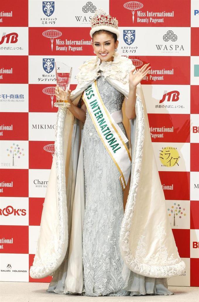 日本代表の筒井菜月さんが5位 優勝はインドネシア代表 ミス・インターナショナル sankei.com…