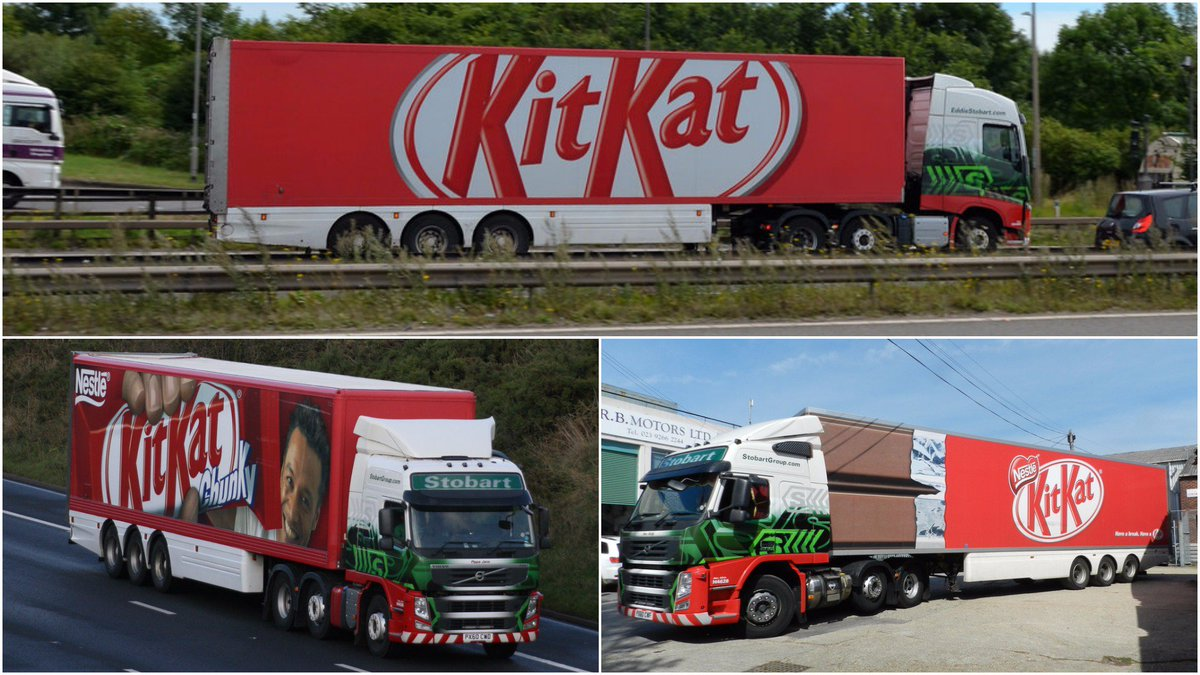 Nestle has embraced the dynamic world of Commercial Vehicle #Media. The exciting campaign sees #Advertising in UK with millions of views. Contact Rolling Screen Media on 0330 66 00 475 Email: info@rollingscreen.com for a new 2018 Media Pack #Marketing #advert #ads #pr #publicity <br>http://pic.twitter.com/PYBUwYOvoK