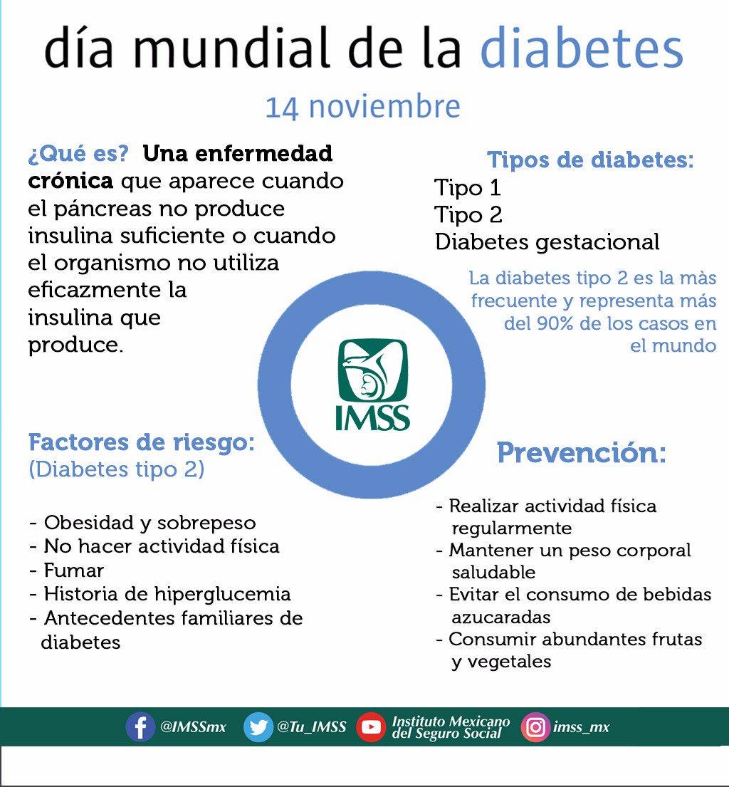 📌  Hoy se conmemora el #DíaMundialDeLaDiabetes https://t.co/Gg4H7mcDXv