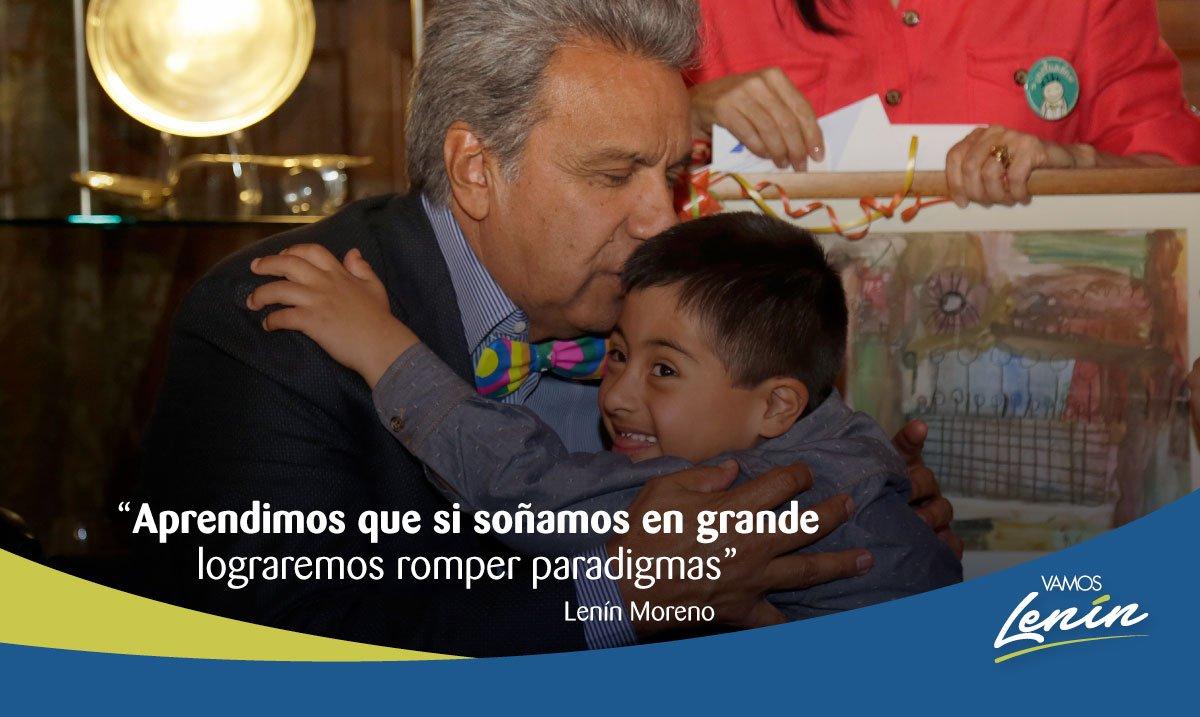¡Juntos haremos del Ecuador un país más solidario, más equitativo e igualitario! #LaMisiónContinúa https://t.co/9mtROO1R5H