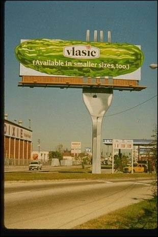#AddPickleToAnything even a billboard fo...