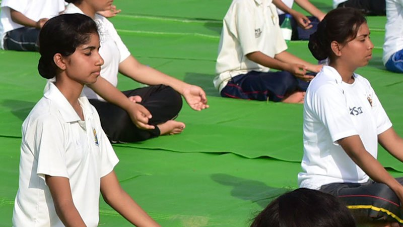 Yoga is now a sport in Saudi Arabia http...