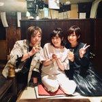中村繪里子&洲崎綾と。この3人で飲んだ日に話したところから、今回繪里子が来てくれた流れになっ…