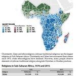 Religions in Africa, via @CSGC.