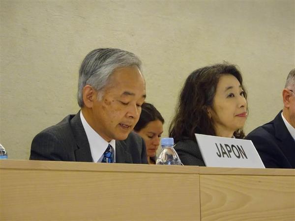 韓国代表、日韓合意について「元慰安婦ら容認できない」 日本の人権状況を審査する国連人権理事会で sa…
