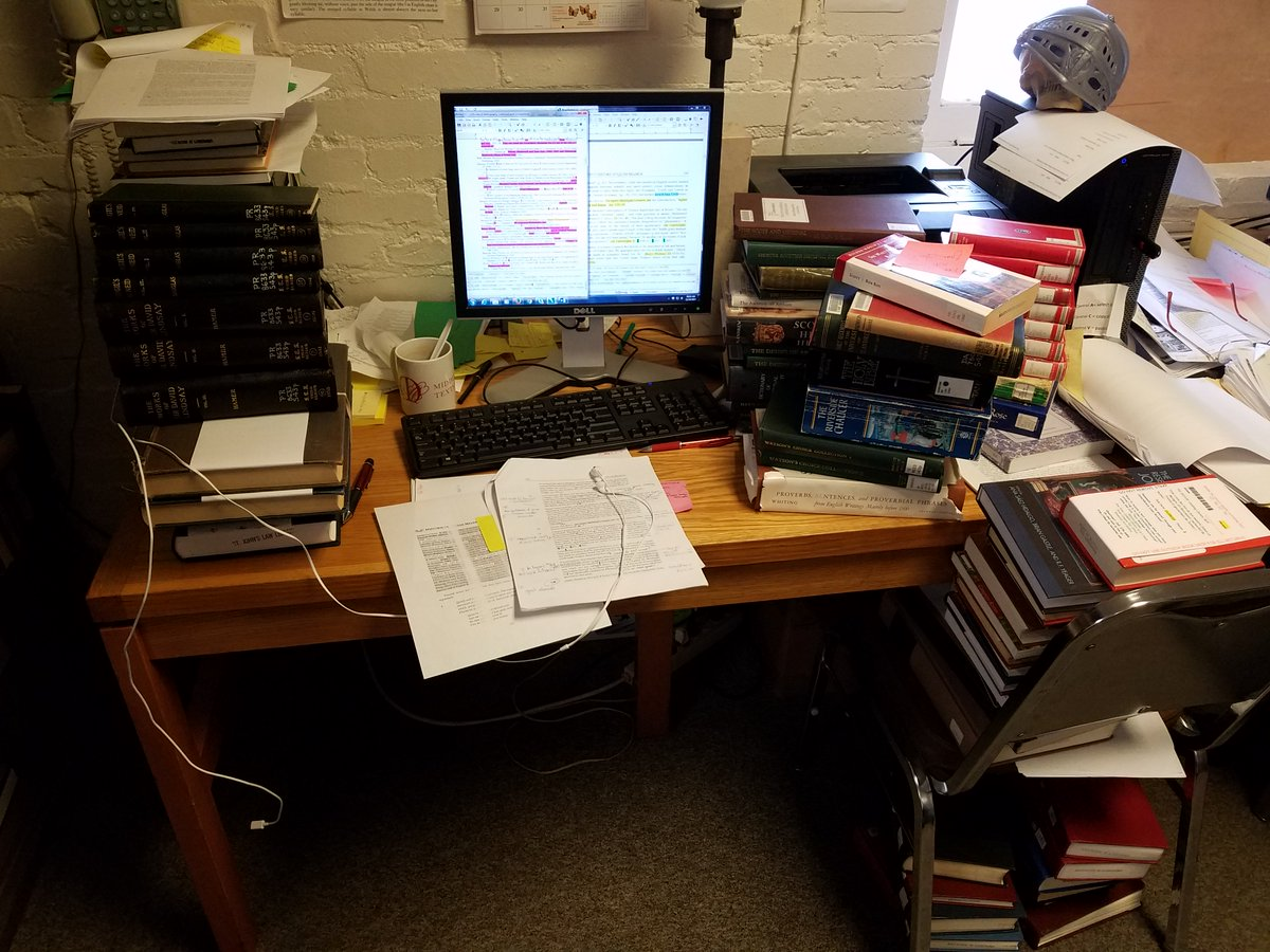 We are #thankful for @RobbinsLibUR &#39;s wonderful collection and support &amp; for InterLibrary Loan&#39;s tireless efforts to get us the volumes we need. These #bookforts would not be possible without them! #wip #bibcheck #medievaltwitter #thanks #citations #olderscots<br>http://pic.twitter.com/AUt3ZVckIZ