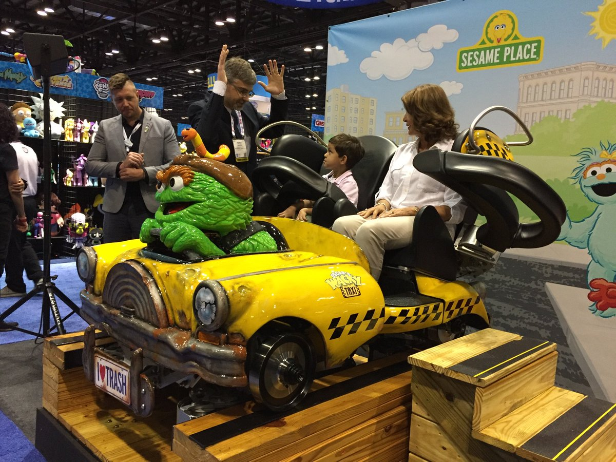 GCI Wacky Trainat Busch Gardens Sesame Place Roller Coaster
