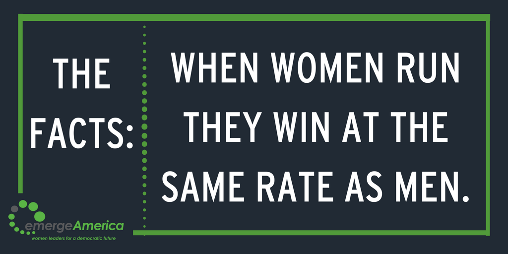 It&#39;s not that we aren&#39;t winning. Women just aren&#39;t running and America needs our talent now, more than ever! #EmergeNow #RunForSomething <br>http://pic.twitter.com/uohEepPsXf