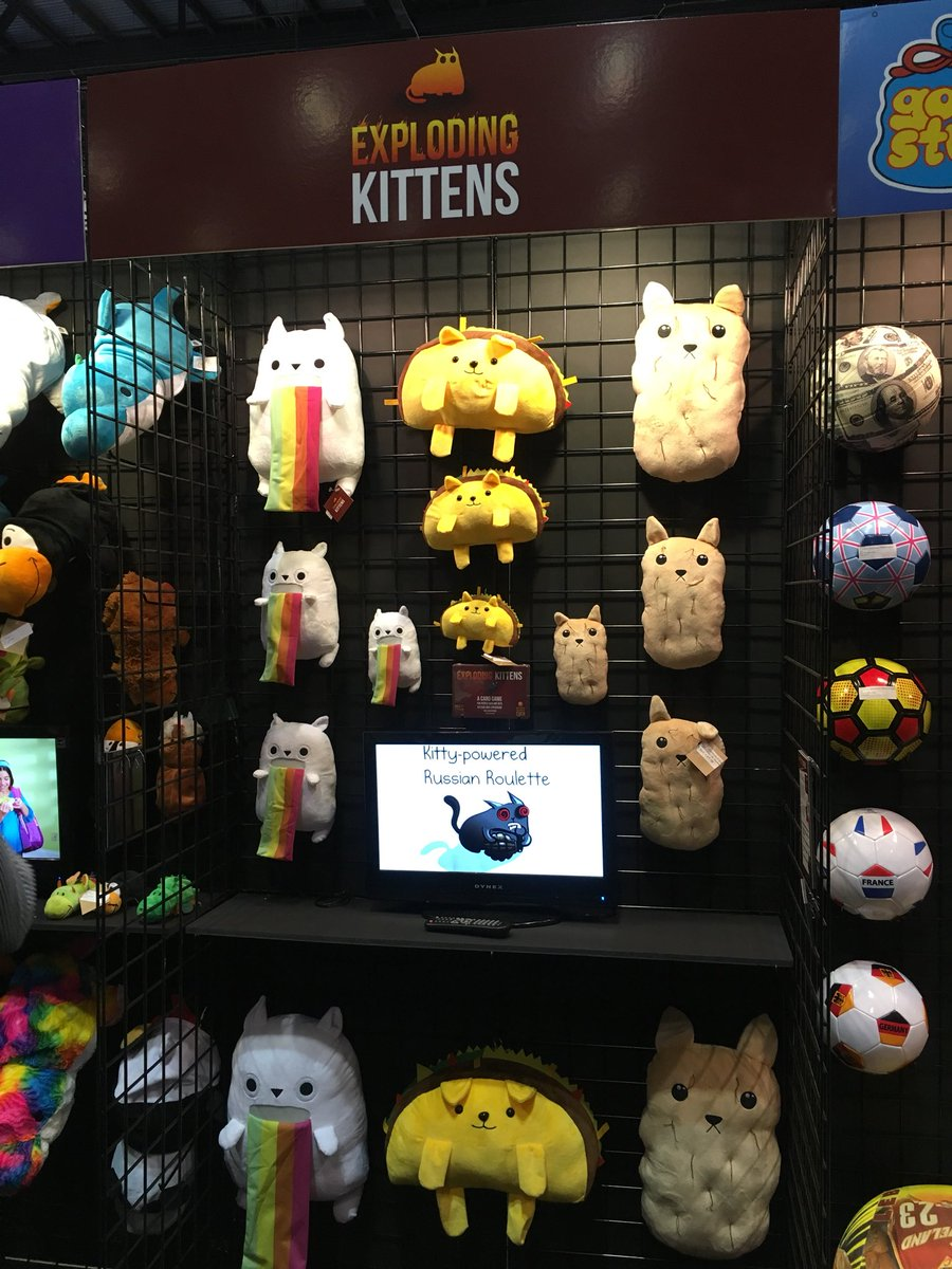 Not going to lie, I want ALL of the plush!! How many SkeeBall tickets for the giant @RickandMorty?!? @IAAPAHQ #IAE17 <br>http://pic.twitter.com/jiW8WmoB7H