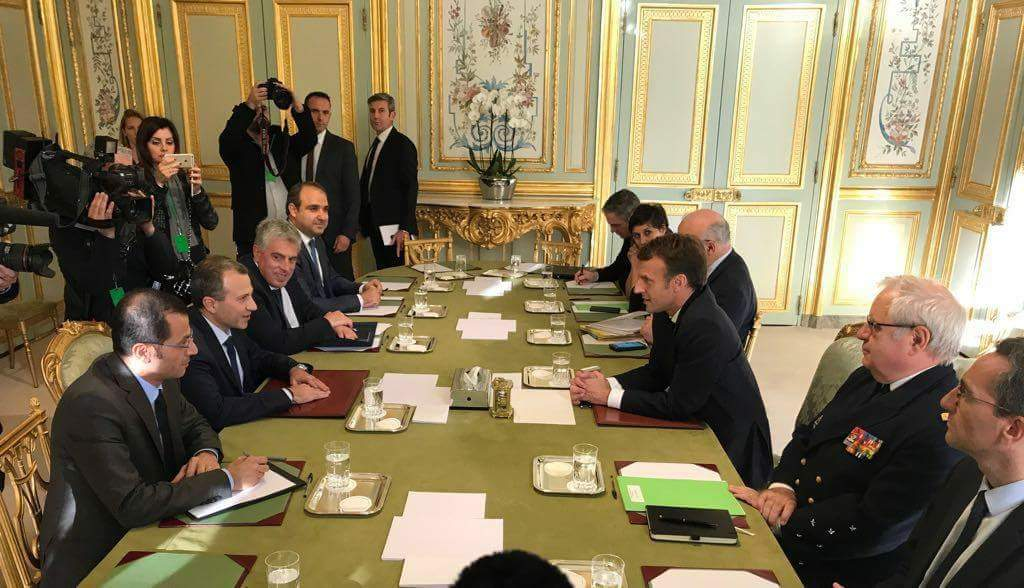 President #Macron #Elysee and #Europe  are sending a clear message: #Lebanon will never be left alone. - Strong president #General_Michel_Aoun. - Smart diplomacy #Gebran_Bassil #باسيل  - Lebanese unity like never before. Let&#39;s get back our PM #SaadHariri<br>http://pic.twitter.com/ktM8a4ZD4S