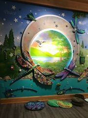 Cold Spring artist creates interactive mural for youth hospice home  https://t.co/P7eJjykPMq #Hospice #art #mural