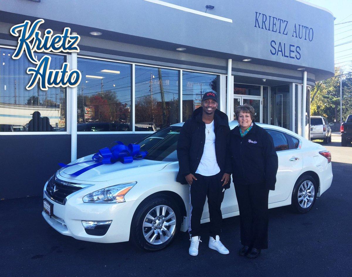Krietz Auto Sales >> Krietz Auto On Twitter Congratulations To Nathaniel On The