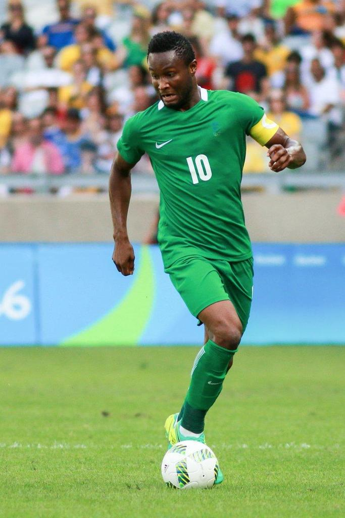 #ARGNGA our midfield prince. OBI MIKEL h...