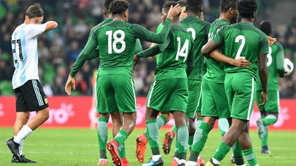 هدف نيجيريا الرابع فى شباك الأرجنتين