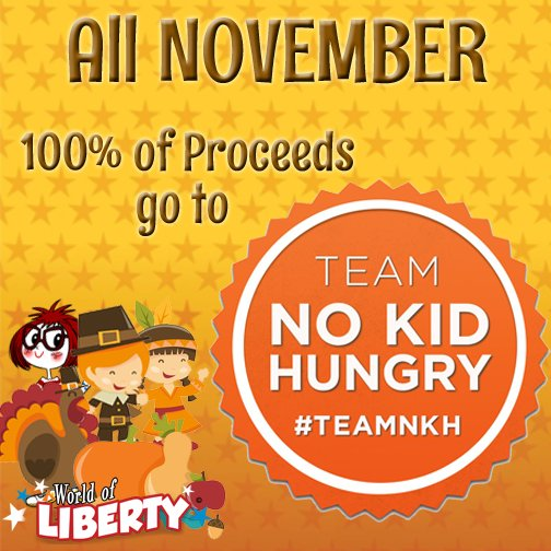 All November 100% of our proceeds will be donated to @nokidhungry! Download now to support #TeamNKH!  http:// bit.ly/WOLbundle  &nbsp;  <br>http://pic.twitter.com/8cPj68PkAi
