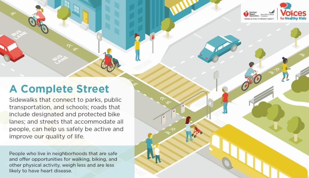 A2:  Healthy and safe street design!  Well-designed streets are safe, people-friendly, and support good health.  #walk2thefuture <br>http://pic.twitter.com/4YfchExzD4