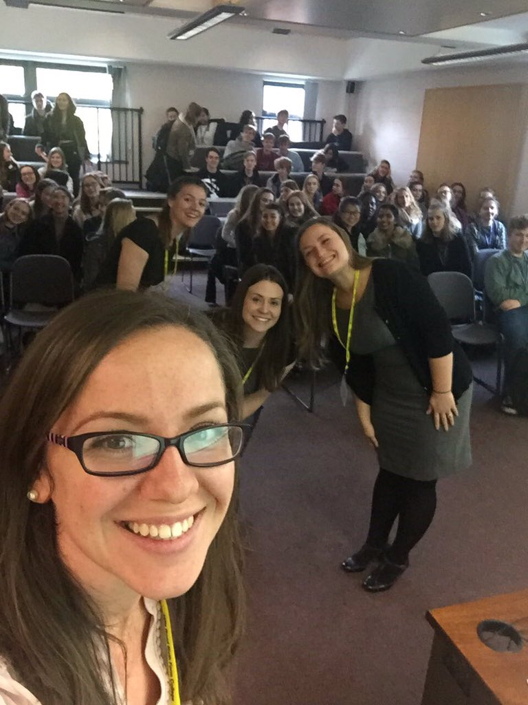 Selfie time! @MandRTrainees, @HLewis_MandR, @Becca_Auster and Hills Road students at today&#39;s lunchtime session on routes into the legal profession. Even better to be back as a @hillsroadalumni. #solicitor #UCASapplications #vacationscheme #trainingcontract #GDL #LPC<br>http://pic.twitter.com/LW1q8YXDCY