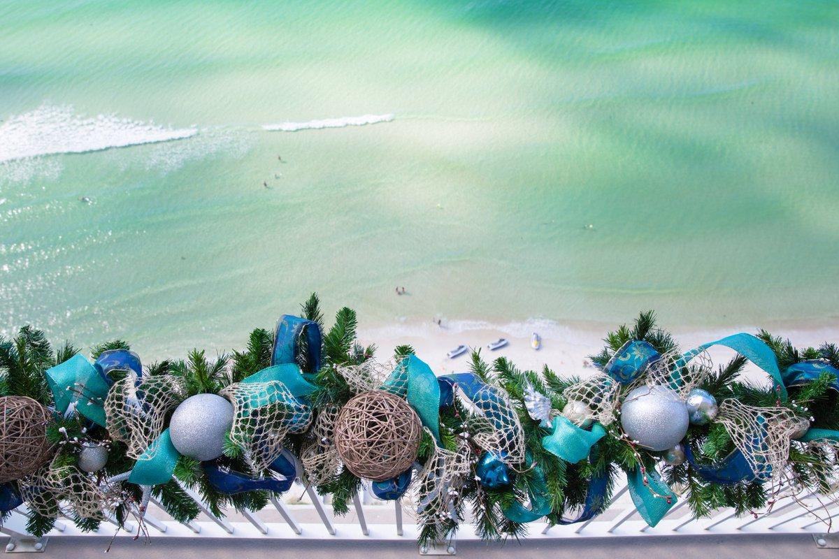 A3 We love decorating for a coastal Chri...