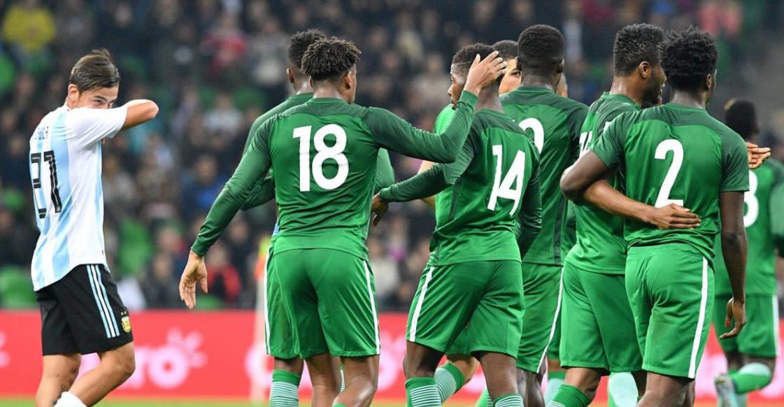 🕘 TERMINÉ !  Argentine🇦🇷  2-4  Nigeria🇳🇬  Sans Messi, l'Argentine s'incline malgré avoir mené 2-0. Iwobi auteur d'un doublé côté Nigeria.