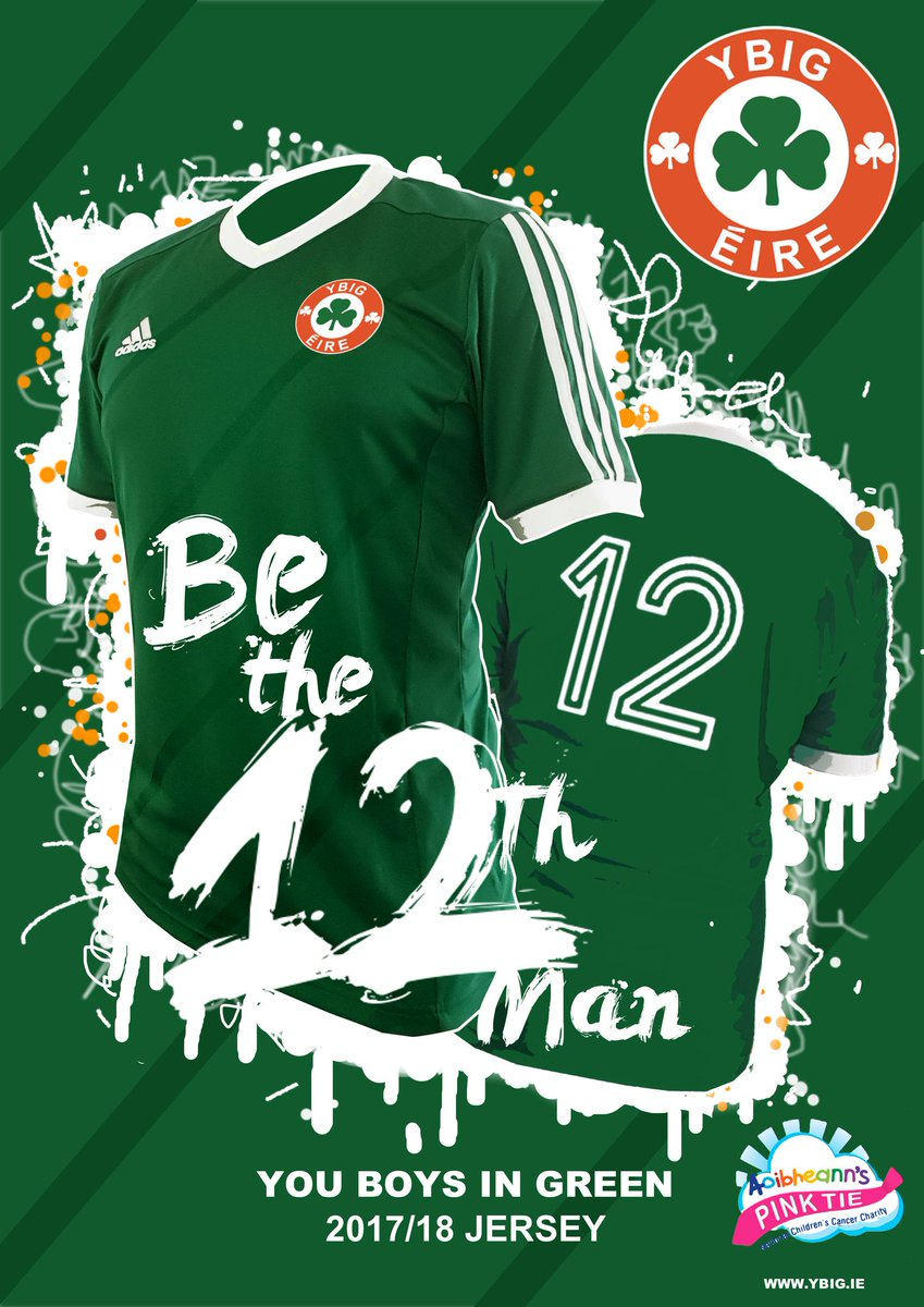 If James McClean scores first tonight we will give someone who retweets this or follows us a YBIG 12th man jersey #IRLDEN #COYBIG #YBIG