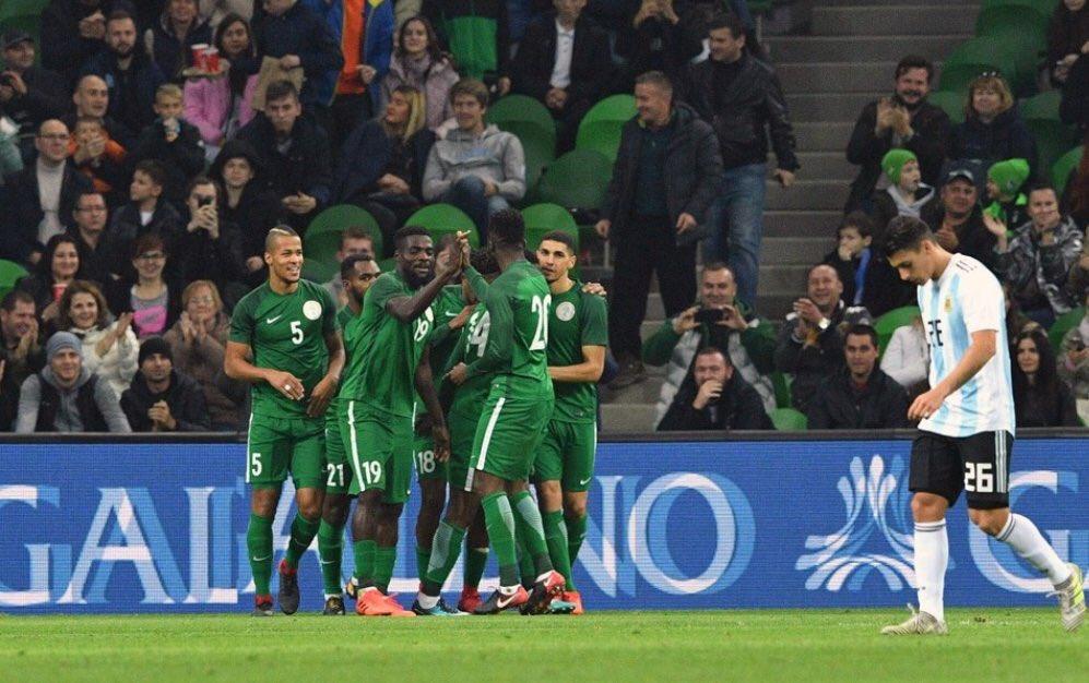 أهداف مباراة نيجيريا والأرجنتين الودية