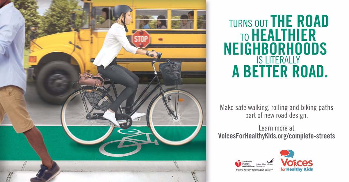 RT @Voices4HK: Check out our toolkits and join Complete Streets Action Team! We have resources to help make streets safer for all:  https:// voicesforhealthykids.org/complete-stree ts/ &nbsp; …   #walk2thefuture <br>http://pic.twitter.com/Dc2RlLUpFh