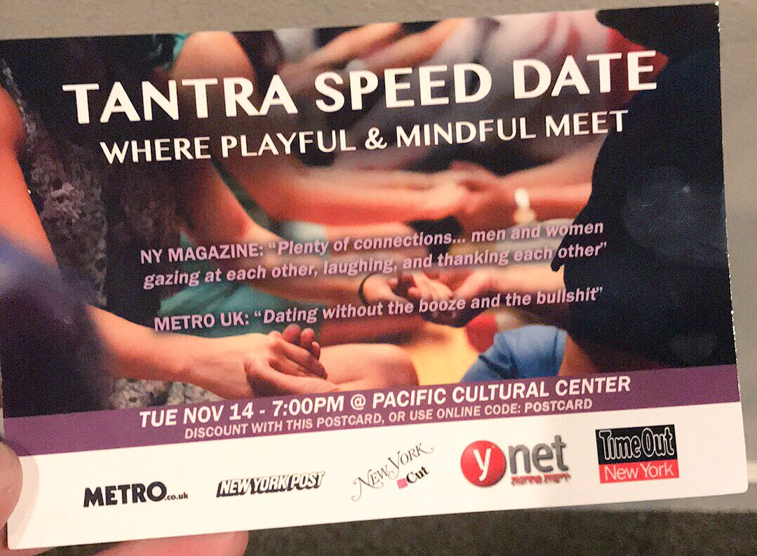 Santa Cruz Speed ​​Dating