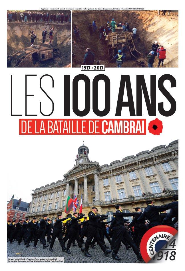 """Résultat de recherche d'images pour """"Courrier picardles 100 ans de la bataille de Cambrai"""""""