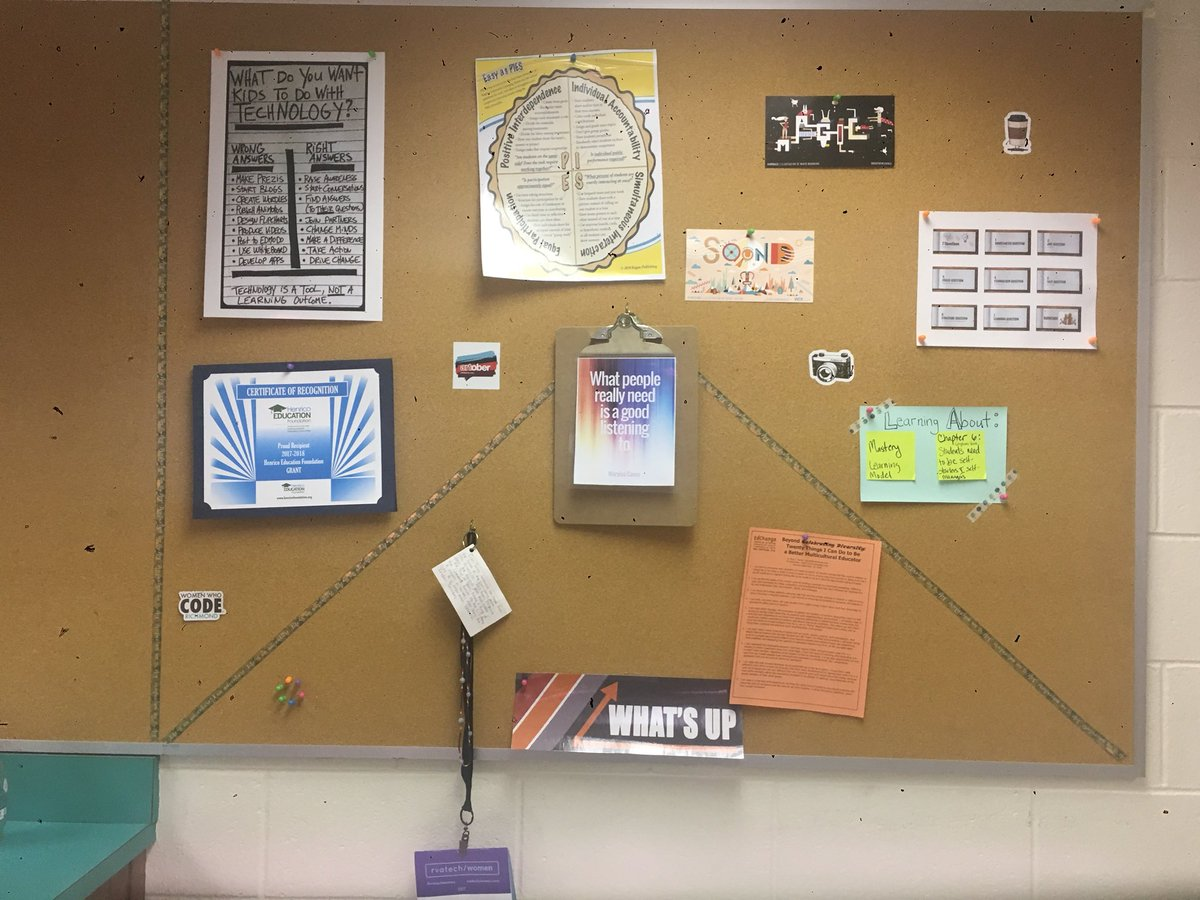 Make the slightest change  to your environment.  It brings focus &amp; stimulates conversations while coaching. #corkboard <br>http://pic.twitter.com/C8kYWz6zMv