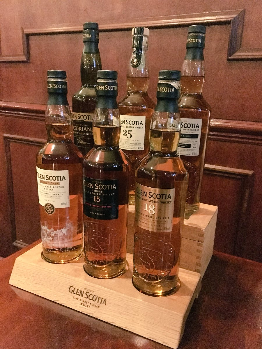 Nearly ready for tonights @GlenScotiaMalts tasting at the Glasgow Whisky Club! @julie_gwc  #peoplemakeglasgow  #NeverFollow Sláinte  <br>http://pic.twitter.com/UrphhjG6am
