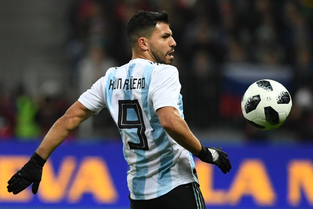 Sergio Aguero was taken to hospital after fainting in the dressing room following Argentinas defeat against Nigeria.  Full story: bbc.in/2hsYLbK #ARGNGA
