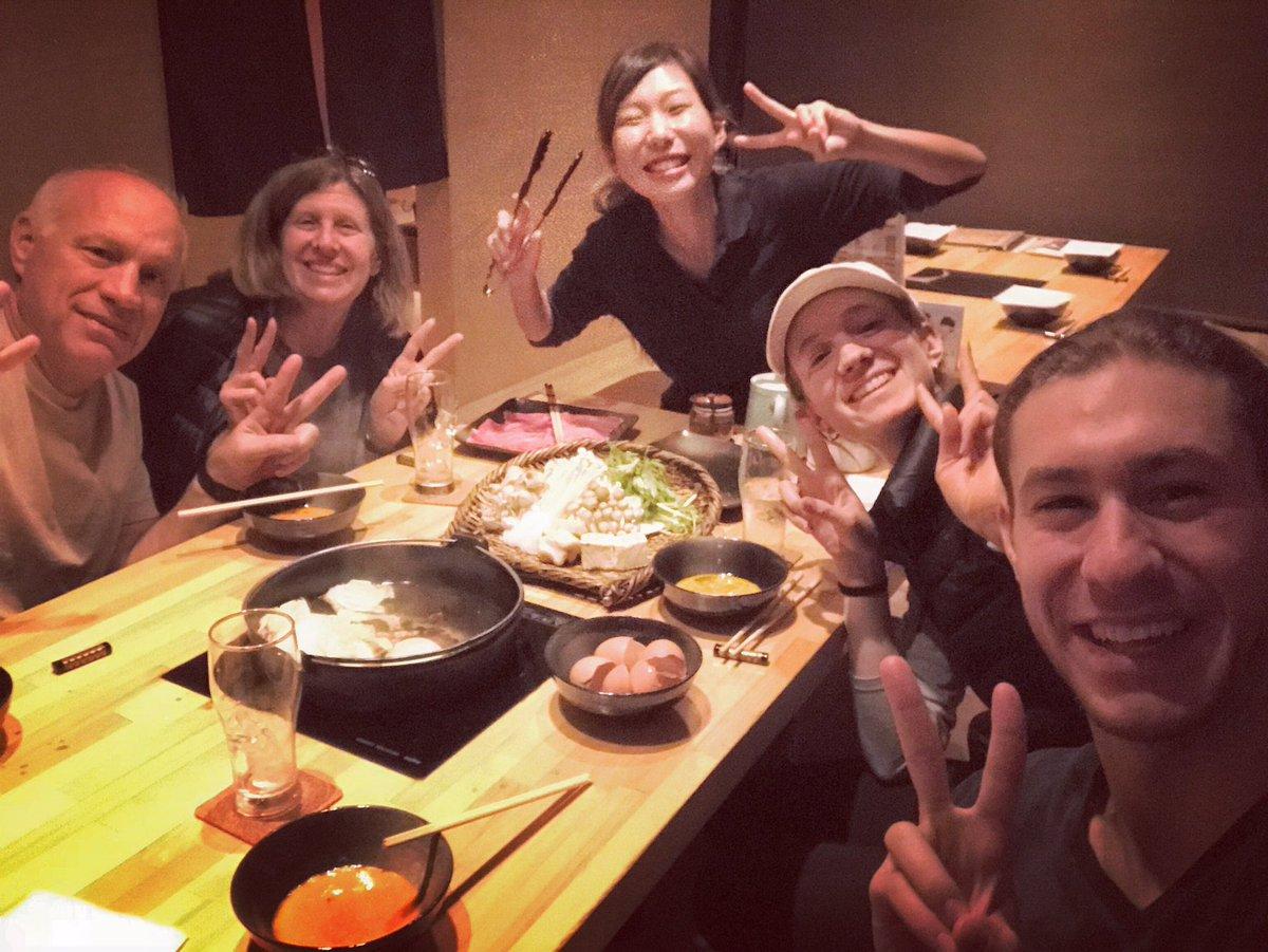 Last dinner in Osaka with the fam!! くいだおれの大阪にいます!#…