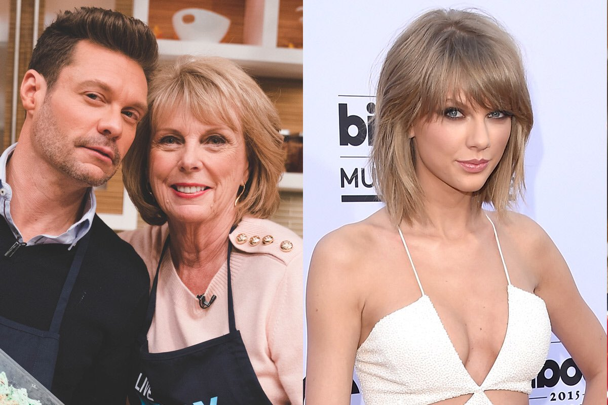 After mom made dessert on @LiveKellyRyan yesterday, many think she resembles @taylorswift. Mom is beyond flattered https://t.co/c5YUQuiscp