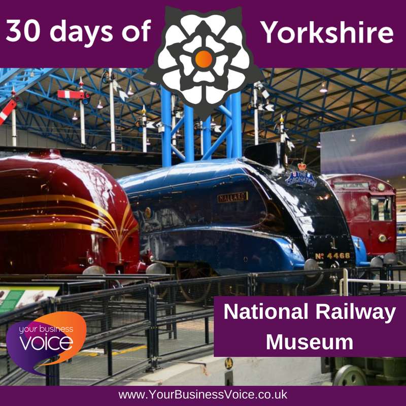 YBV&#39;s #30DaysofYorkshire - Places to Visit - National Railway Museum - The free attraction based in York, is the largest of its kind in the world! It also houses the only Japanese bullet train outside of Japan. It receives almost 1m visitors per year. #RailwayMuseum #YorkshireBiz <br>http://pic.twitter.com/1bAhWs7hj5