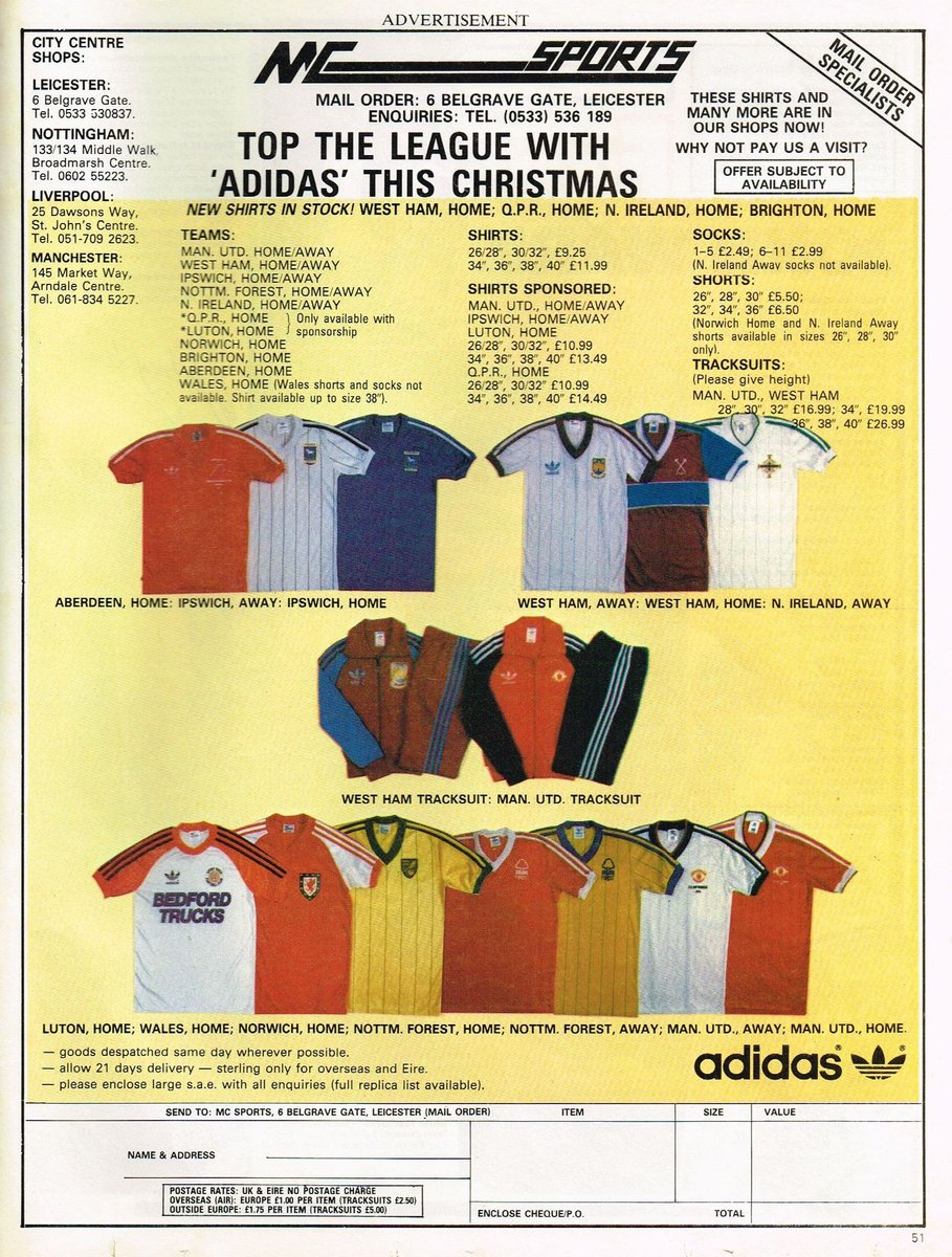 Top the League with Adidas this Christmas