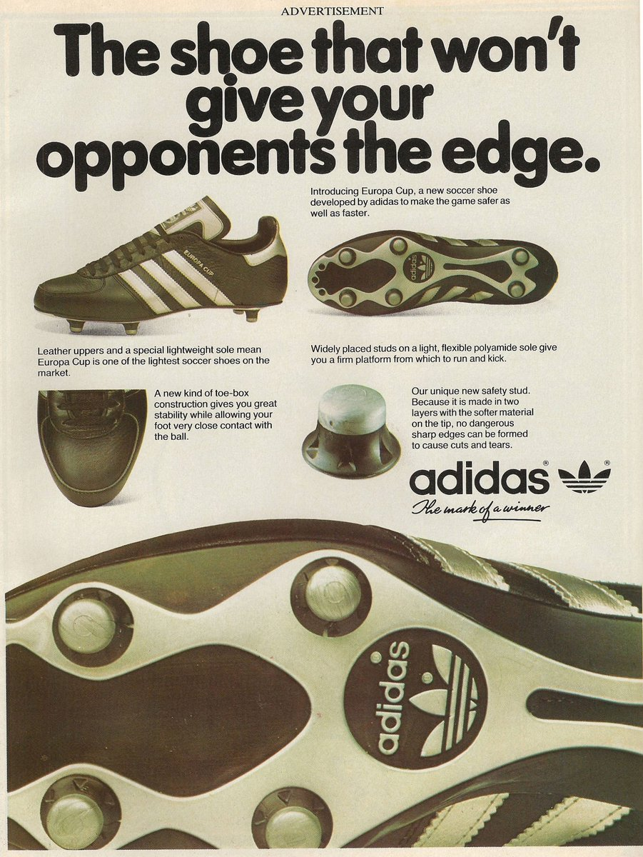 The shoe that wont give your opponents the edge