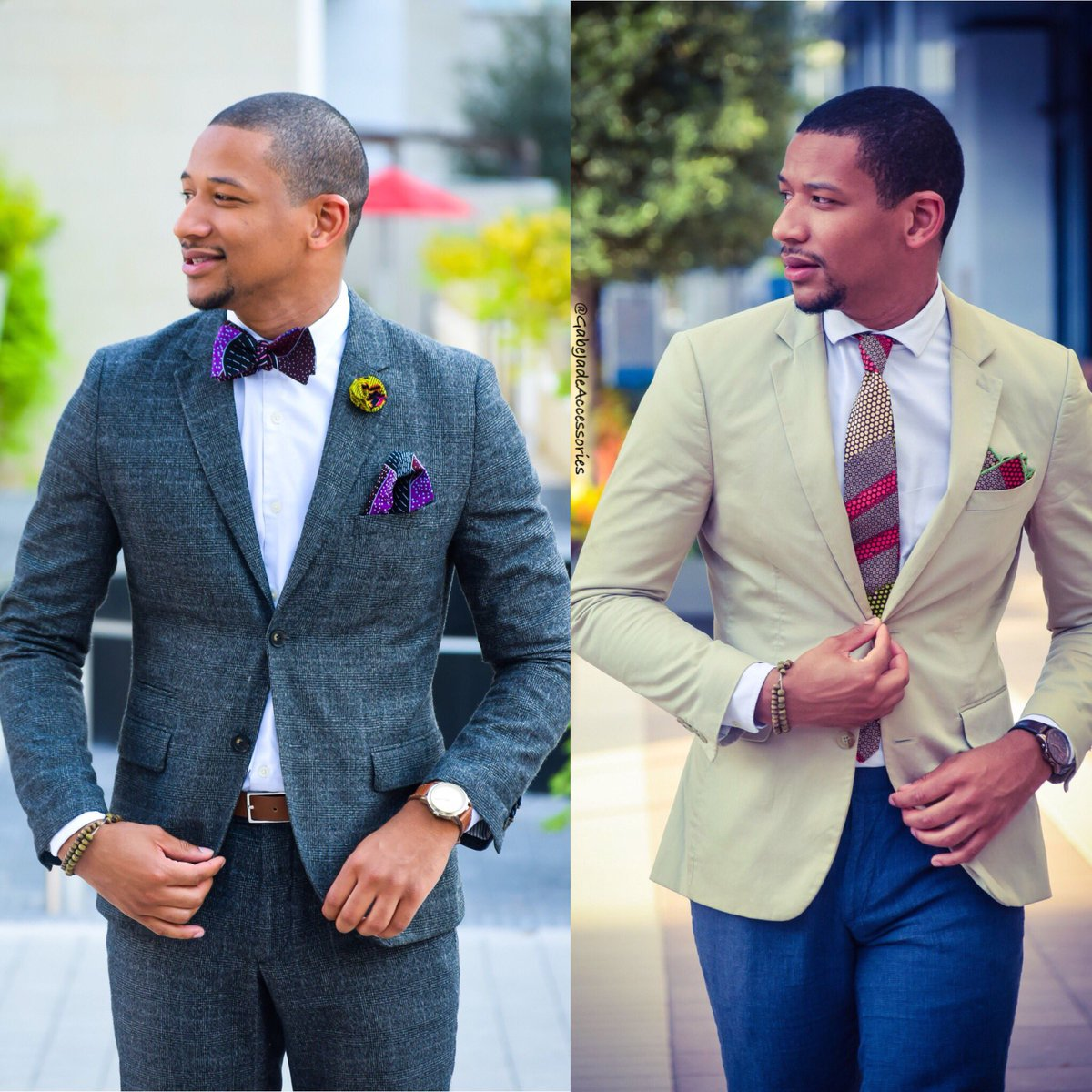 #QuestionTime  Neckties or Bowties? Reply below #Mensfashion #menstyle #menswear #fashionblogger #fblogger #bbloggers #BlackExcellence #polls #TuesdayThoughts<br>http://pic.twitter.com/haXYvDvBBq