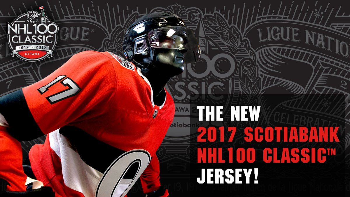 ... jersey that the team will wear on December 16th against the Canadiens.  Get yours at the Sens Store later today or online here  ... 6503333e5