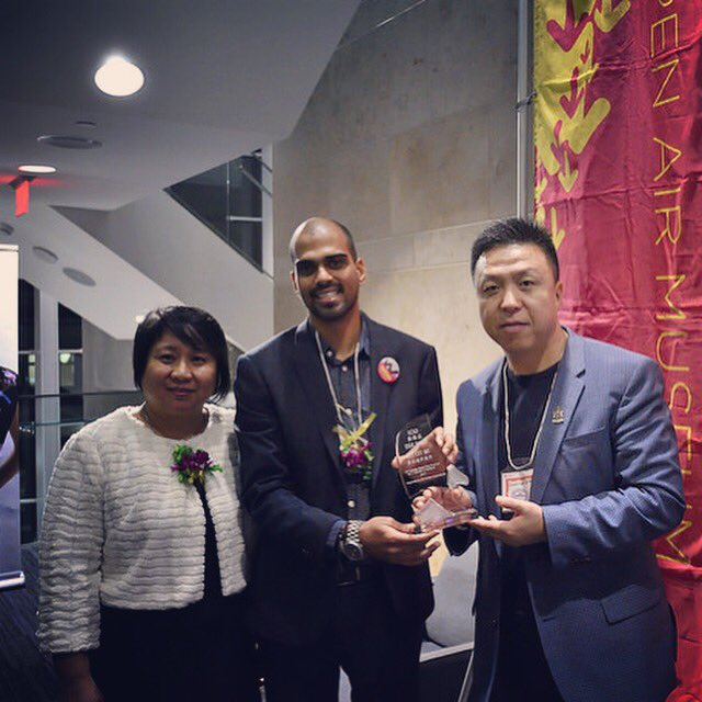 #VanBiennale thrilled to accept Best City Art award at the 12th Canada China Film Festival. Watch for #VancouverBiennale and our unveiling in June 2018! #arts #news #vancouver<br>http://pic.twitter.com/dxqYjfYtAP