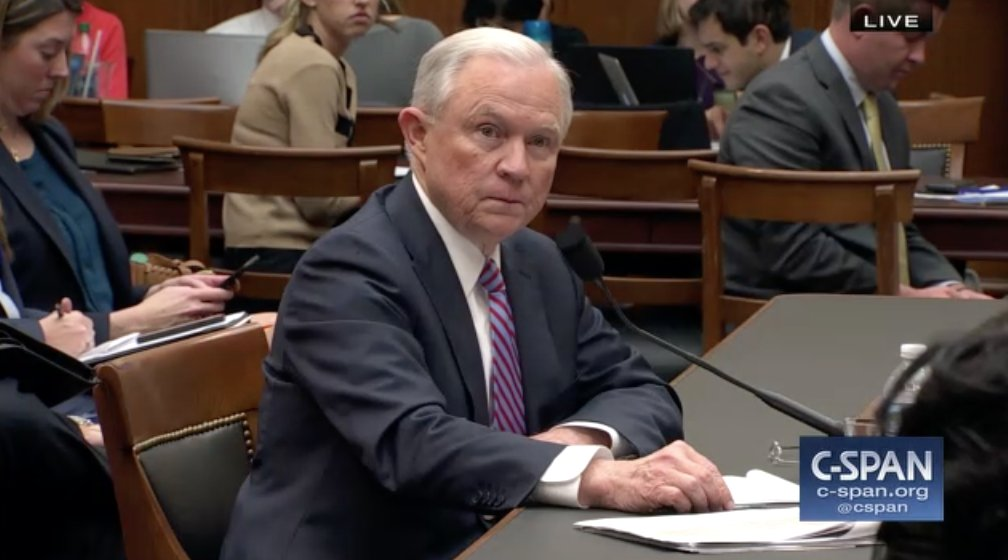 Astounding.  --&gt; @RepSchneider asks #JeffSessions what steps he has taken to follow through on his pledge to protect the integrity of our elections.  --&gt; #Sessions: &quot;I have not followed through on that.&quot;  #SessionsHearing<br>http://pic.twitter.com/INUDsCf3p2