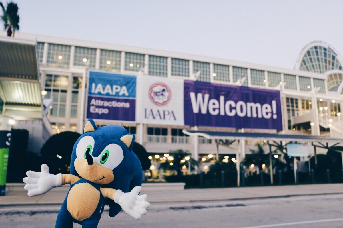 Hello IAAPA 2017!! We&#39;ll be here from Tuesday till Friday! Orange County Convention Centre. Stand 1606 &amp; 1506 #IAE17 #IAAPA<br>http://pic.twitter.com/u8b3xWV661