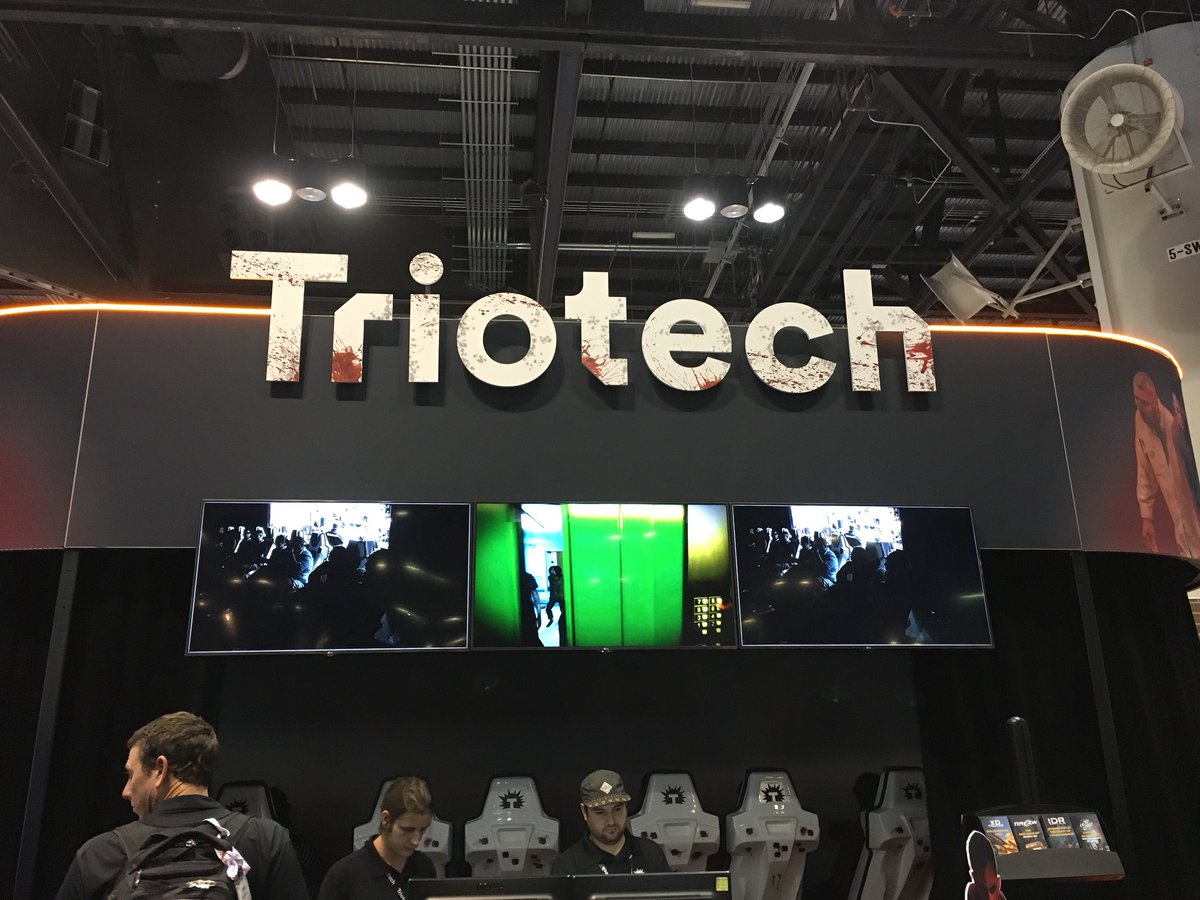 Excited to try the full @Triotech1 Fear the Walking Dead experience next week in #Vegas! @IAAPAHQ #IAE17 <br>http://pic.twitter.com/XJJYKegABx