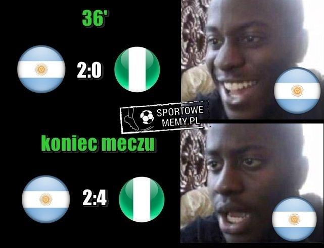 RT @SportoweMemyPL: Argentyna bez Messiego 😂 https://t.co/eTKy1M6fr3