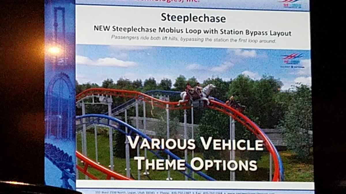S&S Steeplechase coaster.